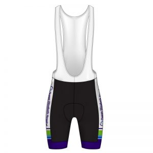 Queen Elizabeth Hospital Birmingham Charity White Bib Shorts