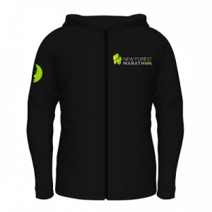 New Forest Marathon Black Soft Shell Jacket (Unisex Fit)