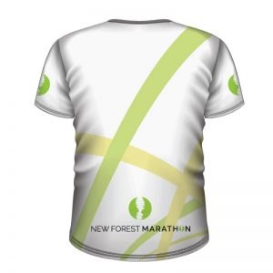 New Forest Marathon White Technical T-Shirt (Unisex Fit)