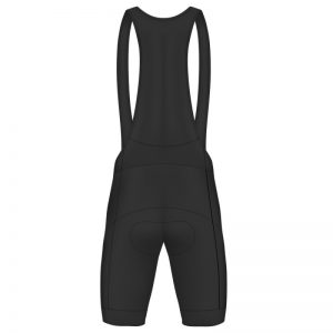 Queen Elizabeth Hospital Birmingham Charity Black Bib Shorts