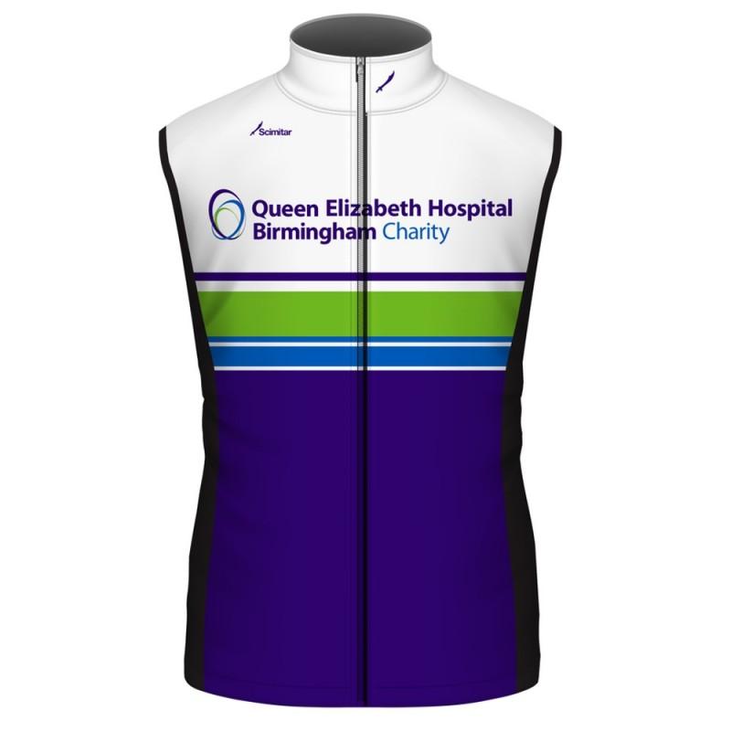 Queen Elizabeth Hospital Birmingham Charity Cycling Gilet