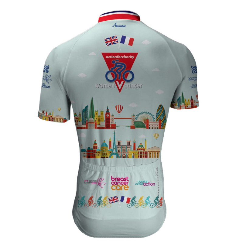 Women V Cancer London to Paris 2018 Cycling Jersey