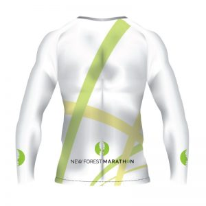 New Forest Marathon White LS Technical T-Shirt (Unisex Fit)