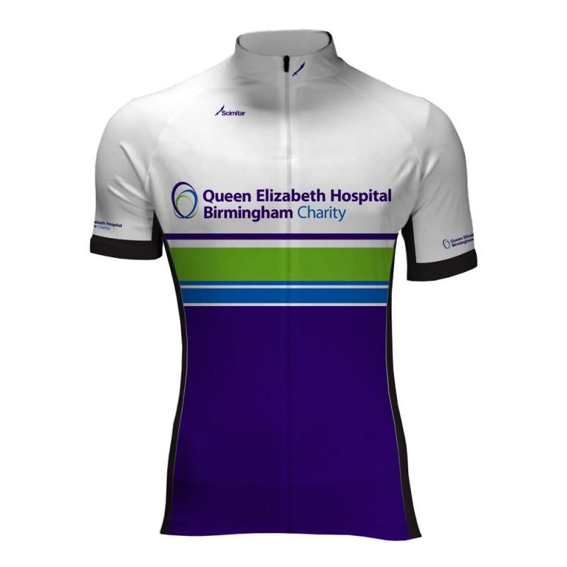 Queen Elizabeth Hospital Birmingham Charity Cycling Jersey