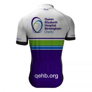 Queen Elizabeth Hospital Birmingham Charity Cycling Jersey