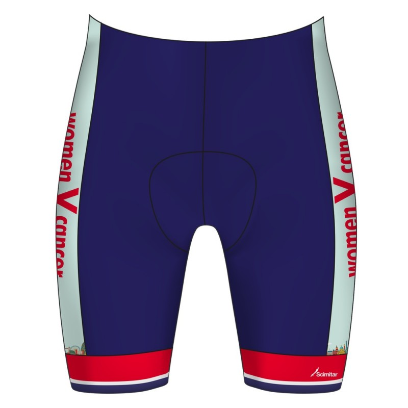 Women V Cancer London to Paris 2018 Pro Cycle Shorts