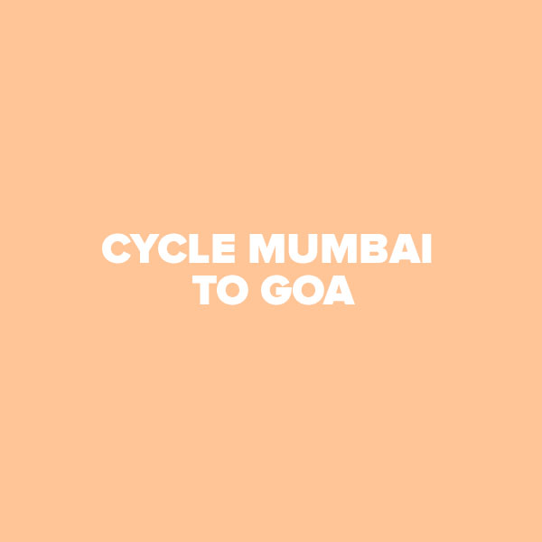 Cycle Mumbai to Goa